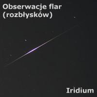 Obserwacje flar Iridium