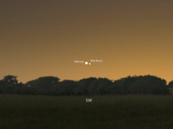 Wenus Merkury 2014.01.11