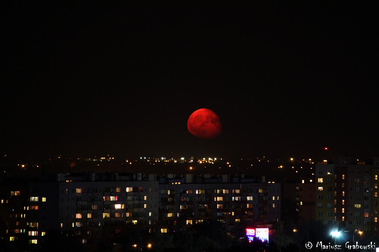 Wschód Księżyca 2015.09.01