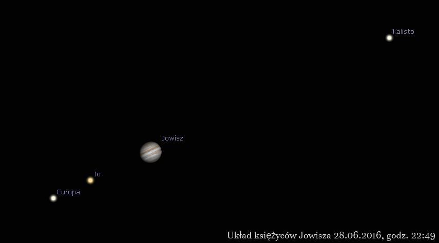 Ganimedes wychodzi z cienia Jowisza 28.06.2016 22.49